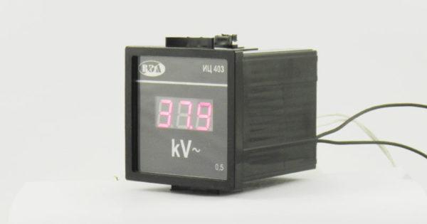 Киловольтметр ИЦ403 - вид сбоку
