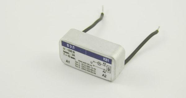 Реле времени для коридорного выключателя КВ1.1 - вид спереди