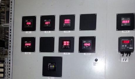 Пример использования цифровых индикаторов серии ИЦ400 на трансформаторных подстанциях