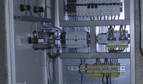 Щит АВР на контакторах LOVATO c управлением на БУАВР.КИ с контроллером заряда АКБ (КЗА)