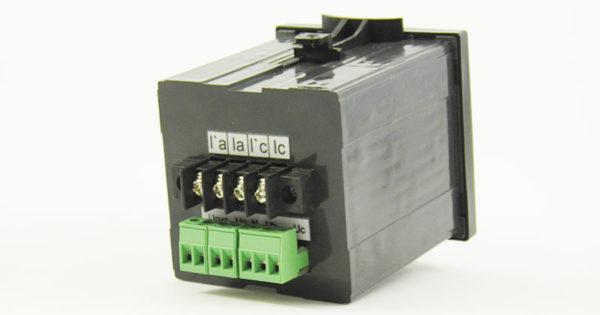 Комбинированный индикатор мощности ИЦ409 - вид сзади