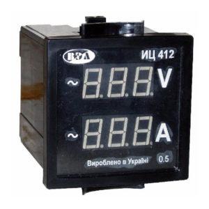 Индикатор напряжения и тока ИЦ412 - фото